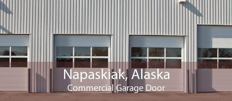Napaskiak, Alaska Commercial Garage Door