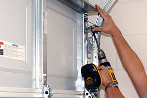 commercial garage door repair in Texas